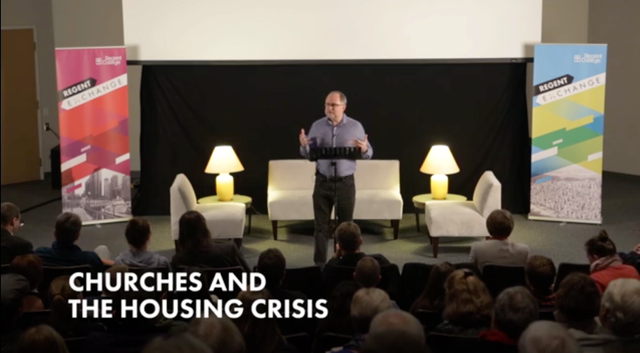 TimDickau - Regent Exch Churches Housing Crisis